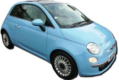 Fiat 500 07-13